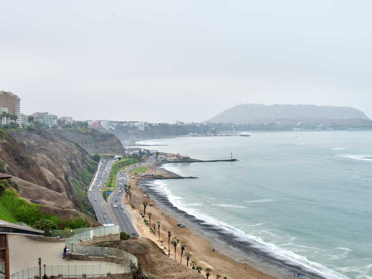 Coastline from Miraflores to Barranco